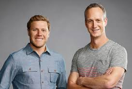 zack giffin and john weisbarth of u0027tiny house nation u0027 home front