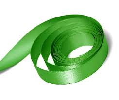 green satin ribbon satin ribbon box and wrap