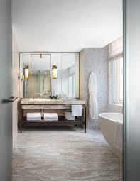 bathroom vanities nyc yabu pushelberg uses muted hues at four seasons downtown new york