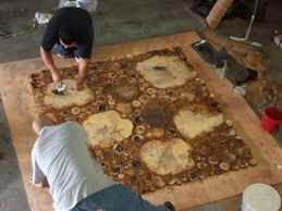 log floor log floor handmade hometalk
