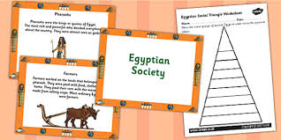 egyptians social triangle powerpoint and worksheets task setter