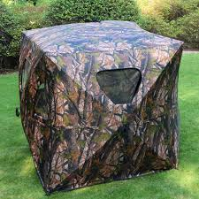 costway ground hunting blind portable deer pop up camo hunter