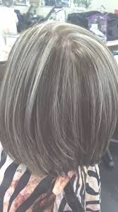 pictures of grey hair with lowlights blending gray hair with highlights and lowlights best hairstyles