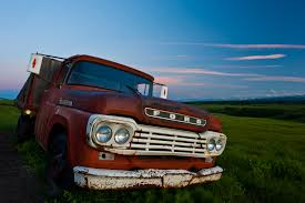 Old Ford Truck Colors - old ford truck dusk on the albertan prairie christopher martin