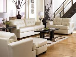 Modern Leather Living Room Furniture Awesome White Leather Living Room Furniture 19 With For Ordinary