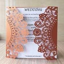 flower style luxurious wedding invitation card christmas card