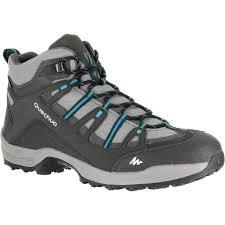 quechua arpenaz 100 mid waterproof men u0027s hiking boots quechua