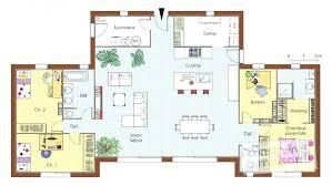 plan 4 chambres plain pied plan maison plein pied gratuit plan de maison plain pied plan morne