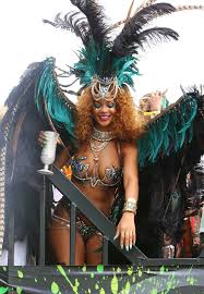 carnival costume rihanna s carnival costume was a sparkly pictures