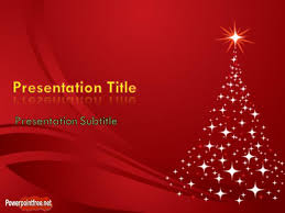 powerpoint 2007 christmas template free christmas tree powerpoint