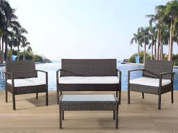 Real Wicker Patio Furniture - wicker garden furniture outdoor conversation set tivoli