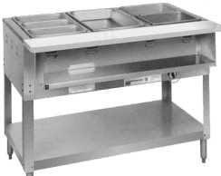 duke gas steam table steam tables by duke manufacturing