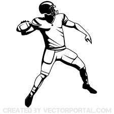 clip art football player download free vector art clipartixbest