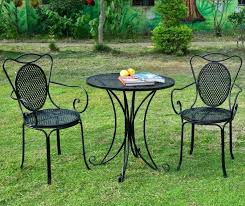 metal patio table and chairs small round outdoor table small garden table and chairs homebase