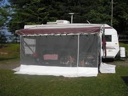 Awning Screen Panels Rv Awning Screen Room Read This Before Buying One Rvshare Com