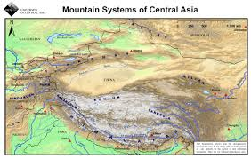 Map Of Central Asia Maps U2013 Plateau Perspectives