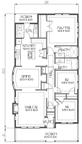 craftsman bungalow floor plans house plan 76818 at familyhomeplans com