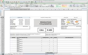 5 useful microsoft excel templates for indie film tv production