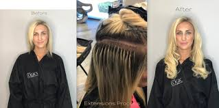 hair extensions for short hair before and after great lengths hair extensions in fort lauderdale by hair stylist