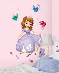 sofia first giant wall decal everything princesses