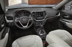 jeep cherokee xj dashboard 2017 jeep cherokee overland interior photos gallery 2017 jeep