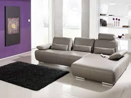 italienisches design ecksofa leder grau für wohnzimmer italienisches design