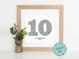 best 10 year anniversary gifts the best 10 year anniversary gift ideas for him and them 10