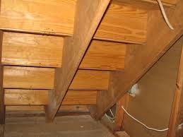 under stairs closet storage access door