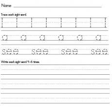free printable word tracing sheets printable worksheets for kindergarten sight words homeshealth info