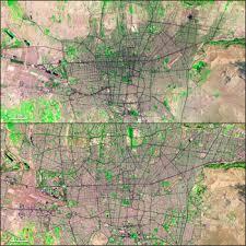 tehran satellite map nasa s newest map of the world landsat science