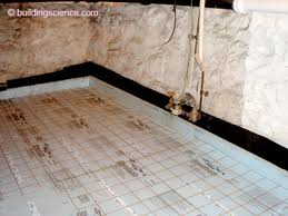 Basement Flooring Tiles With A Built In Vapor Barrier Rubble Foundations Building Science Corporation