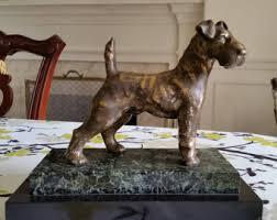 american pitbull terrier figurines terrier statue etsy