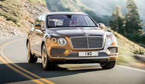black and gold bentley bentley bentayga w12 2016 review by car magazine