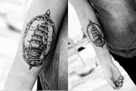 travel tattoo sailing boat picture tattoomagz