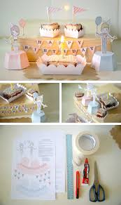 Decoration Birthday Party Home Mini Birthday Decoration Kit In Ideas For Babies Kids And Adults