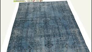 Dying A Rug Over Dyed Anatolian Vintage Rug By Kilim Com Youtube