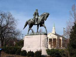 statue with christian college expels student who posed at charlottesville