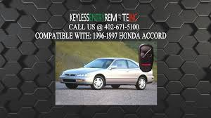 honda accord fob battery how to replace honda accord key fob battery 1996 1997