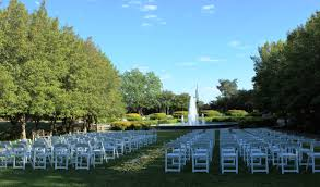 discovery gardens wedding ceremony site grand alee du meadow at discovery gardens in