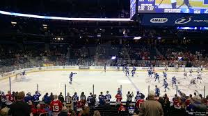lexus of tampa bay reviews amalie arena section 102 tampa bay lightning rateyourseats com