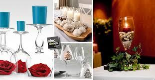 decorazioni bicchieri bicchieri candele fai da te ecco 20 idee stupende