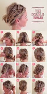 how to cut womens hair with double crown diy double braid hair pinterest double braid style and