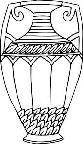 Vase Drawing Clipart Vase 15 Line Drawing