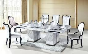 white marble top dining table set compare prices on custom dining