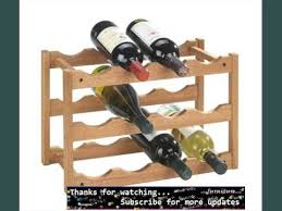 small wine racks wood youtube