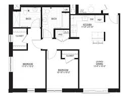 Two Bedroom Floor Plan 2 Bed 2 Bath Apartment In Portsmouth Nh The Residences At