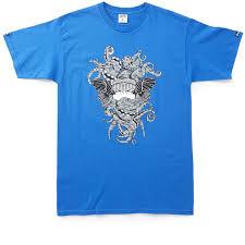 crooks and castles black friday and castles tako medusa t shirt cobalt
