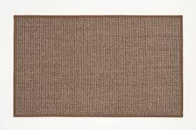 4x6 Sisal Rug 4x6 Ash Brasilia Sisal Rug With Eucalyptus Narrow Cotton Binding