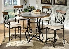 high dining room tables and chairs furniture accessories counter
