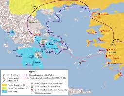 prima guerra persiana le flotte achemenidi e greche mente digitale